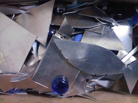 Basteln mit Aluminiumblech