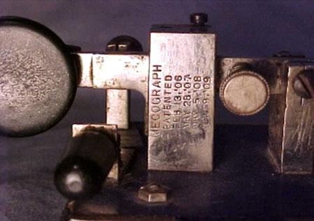 Particolare Frame con brevetti Mecograph.