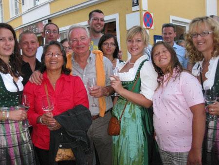 JG Wien 11 & Linz Land mit dem Trauner Bürgermeister Harald Seidl & Ehefrau