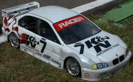 1. Platz schönstes Auto von Frank Kiliam USA bei der WM 2001 Ettlingen / D u. diese Karosserie hat mir Frank geschenkt.