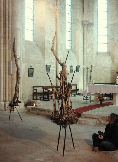2009 - Itinérances, Eglise de Longuesse -Roman Gorski