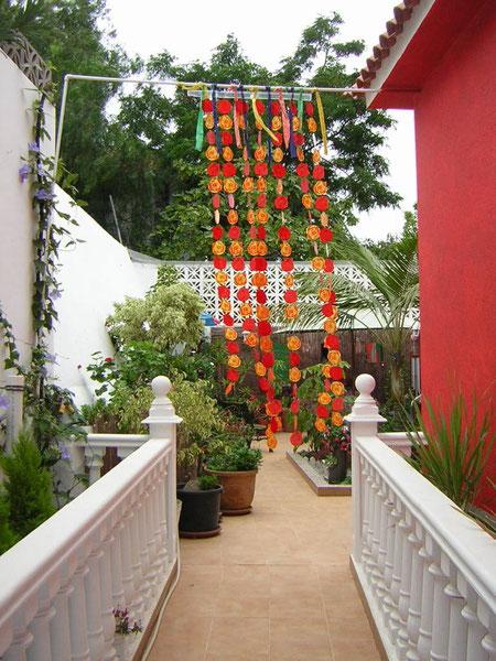 Eingang zur Casa Carinia