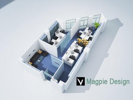 2D Floor Plans Estate Agents - Architech Cad | 3D Visualisation