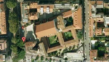 convento dall'alto