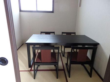 栃木県 業務用家具 施設用家具 納品事例 和食処