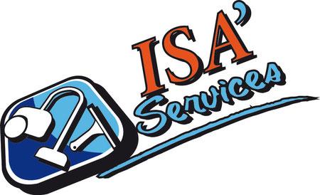 Créa logo Isa Services