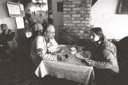 Repas journalier au restaurant social Nativitas - Bruxelles © Mathilde Bouvard