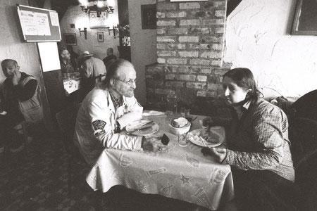Daily lunch in social restaurant Nativitas, Brussels© Mathilde Bouvard