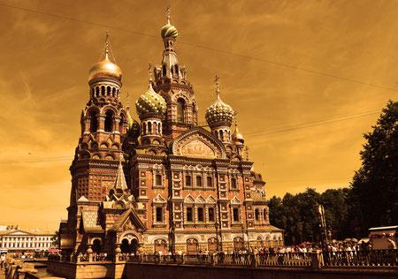 San Petersburgo, Iglesia de la Sangre Derramada