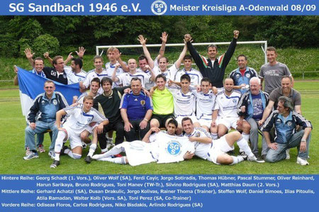 SGS A-LIGAMEISTER 2008-09