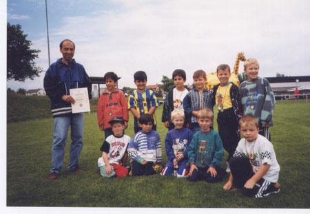 SGS Schnuppertraining 1999