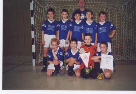 SGS E-Jugend Hallenvizekreismeister 2002