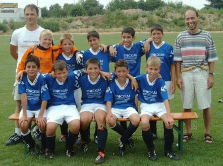 SGS E-Jugend Bezirksmeister 2003