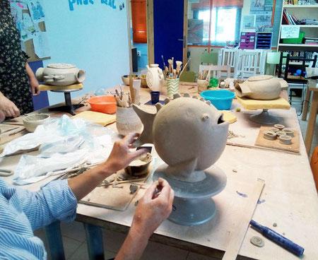 Clase de ceramica mari orikasa( Orimari)