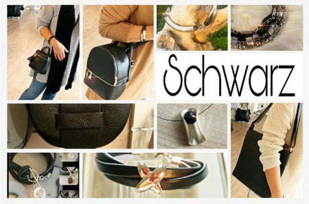 Accessoires in Schwarz