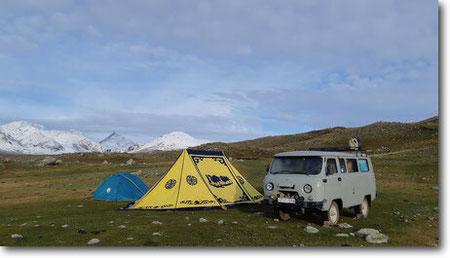 Trek Altai Mountains-trekking in mongolia