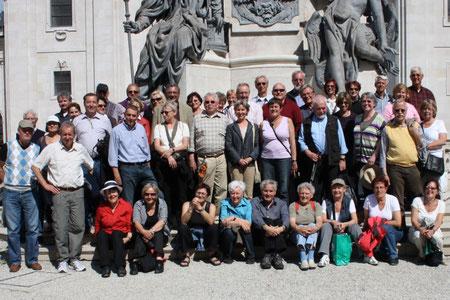 .. die Gruppe am letzten Reisetag