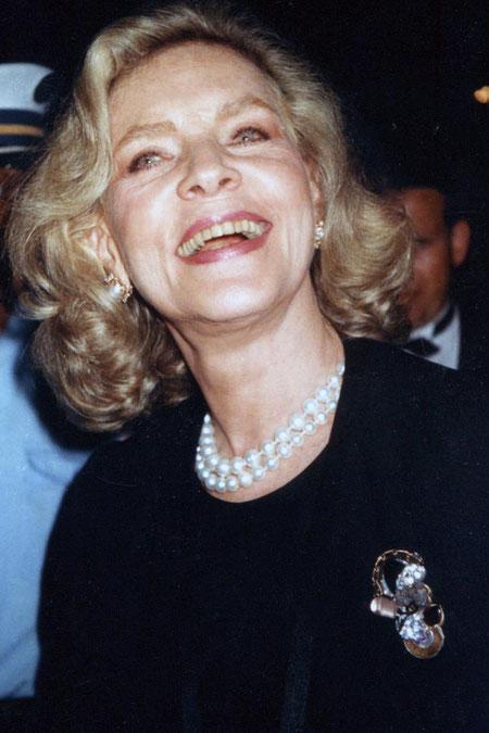 Lauren BACCAL - Festival de Cannes 1991 - Photo © Anik COUBLE