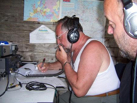 DL1ASF im Funkbetrieb bei DR2N