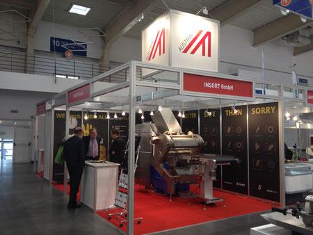 Österreichstand an der Polagra-Tech 2014 in Poznan