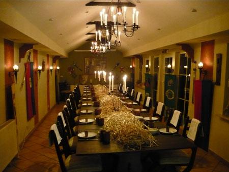 Rittersaal im Restaurant Lancelot (Inhaber hat gewechselt)