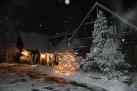 Unser Hof im Winter...