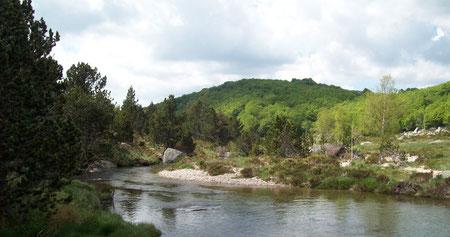 """A l'aval du """"Pont Romain"""""""