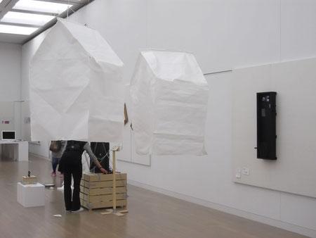箱の記憶とThe home  66th 日本アンデパンダン展 新国立美術館 2013