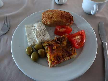 Mein erstes Frühstück