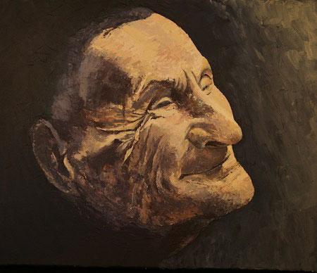 Yannick   Huile sur toile 38 x 46