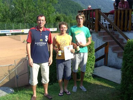 R.Zawrel, Lorenz Fink/Christoph Panzi - Sieger Bewerb II