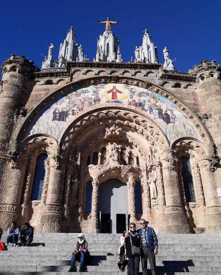 Экскурсия с посещение Тибидабо в Барселоне