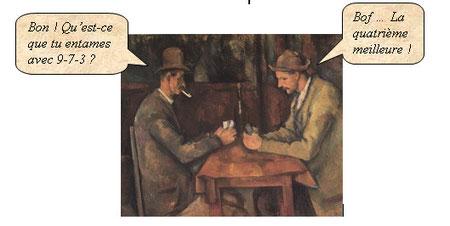 Cézanne-Les joueurs de cartes
