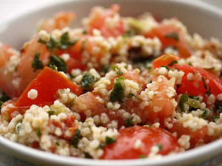 Couscous - Wohlschmecken und Gesund