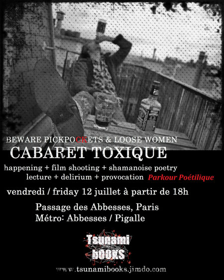 Photo: Henrik Aeshna by Anita Volk - Cabaret Toxique in Montmartre, Paris