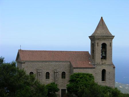 Coti-Chiavari-Eglise Saint-Jean-Baptiste reconstruite en 1902 sur l'ancienne piévanie