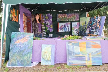 Andrea Bossmann, Kunstmarkt 2009