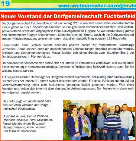 Wietmarscher Anzeiger 03/2013