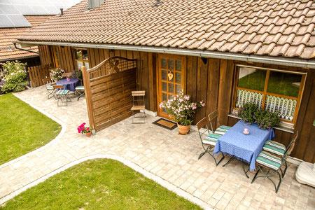 Ferienhaus Brunner im Bayerischen Wald mit 2 Ferienwohnungen