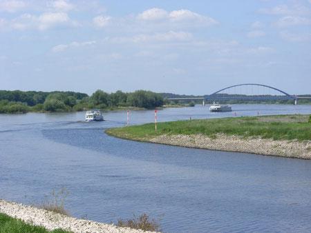 ... an der Elbe