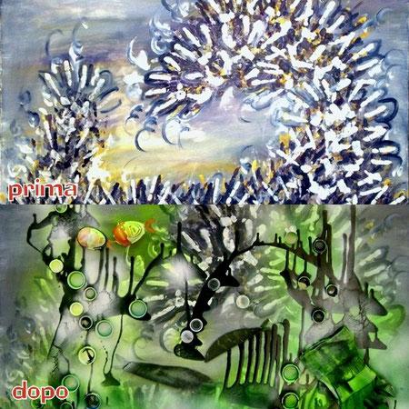 """Valentina Berna Berionni e G.M.Zago-""""Nel mare dei sargassi""""Aprile 2010"""