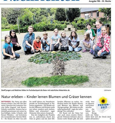 Leine-Nachrichten v.26.08.14