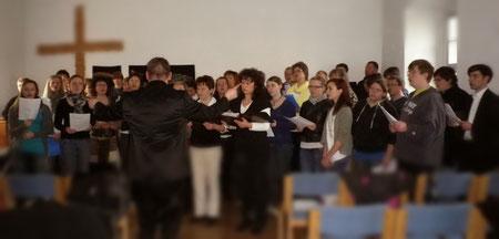 Gesamtchor: JC, Kirchenchor Laucha & Trinitatischor