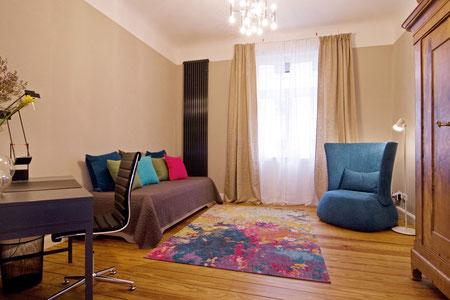 Ludwigshafen vollmöblierte Wohnung - Schlafzimmer