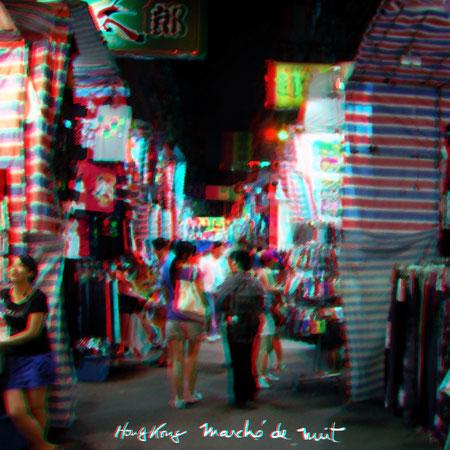 Hong Kong marché de nuit