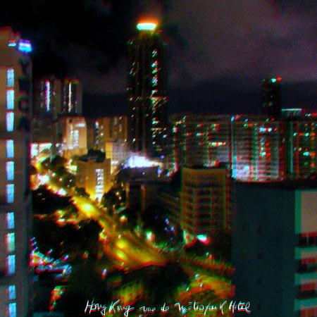 Hong Kong vue de Métropark Hotel