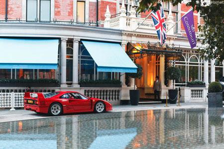 Ferrari F40 Londres - 2018