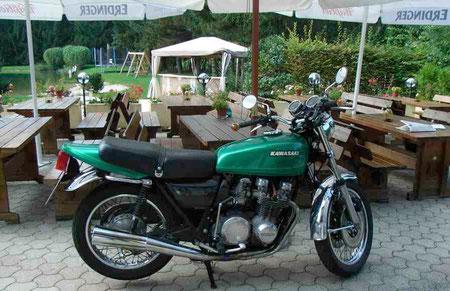 Meine geliebte Kawa z650 Ez 1977