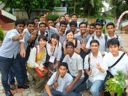 Cultural Exchange with the students