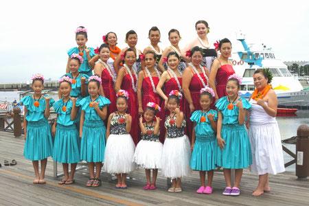 八景島フラパラダイス2015 今年も楽しく踊らせていただきました!